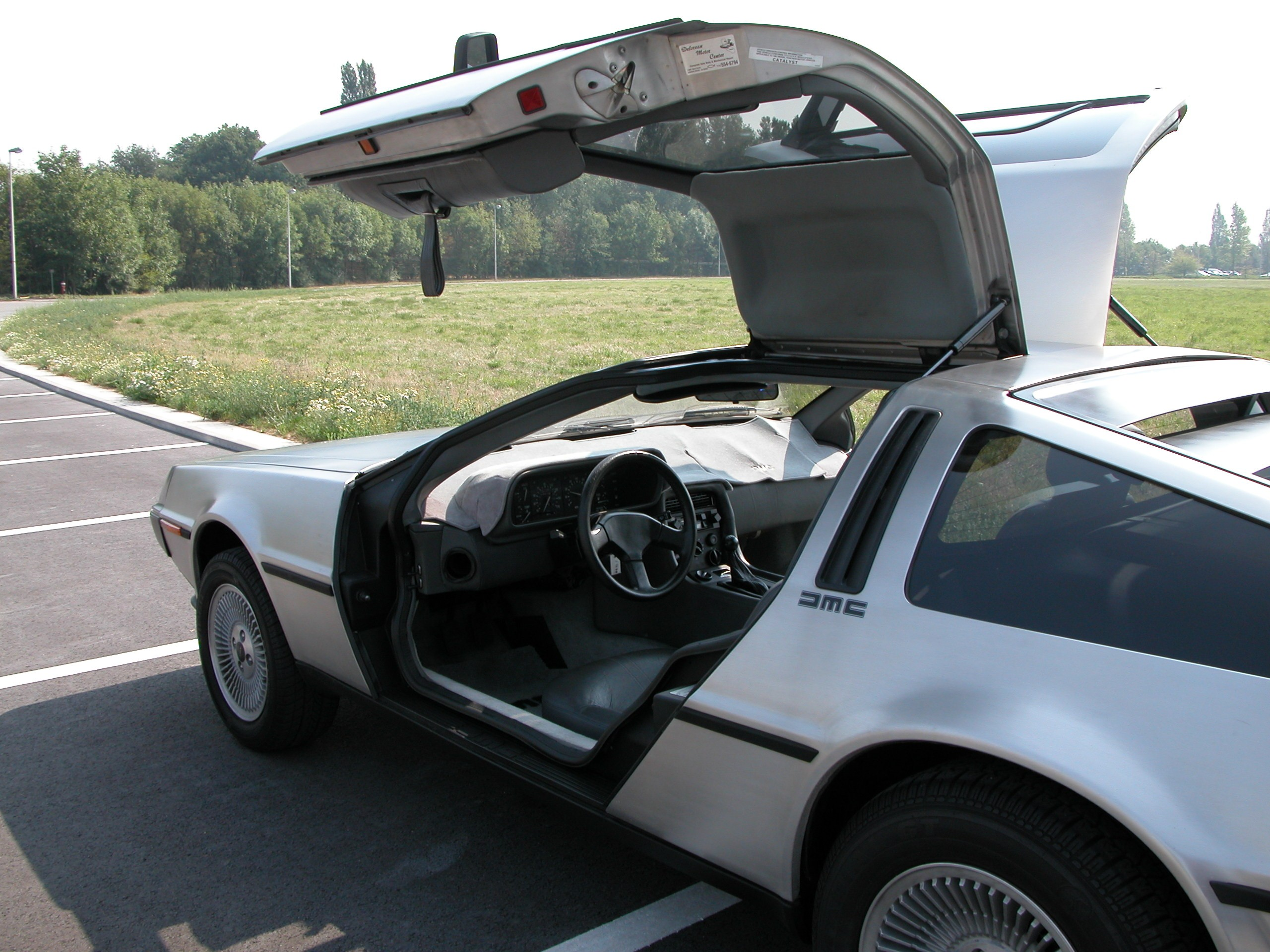one more 1981 DELOREAN DMC 12